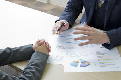投資や仕事の説明