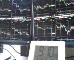 寄付き前の株価