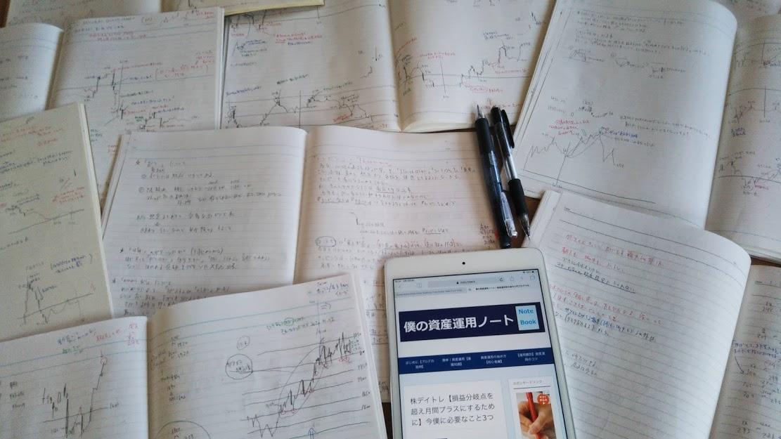 株デイトレードの勉強
